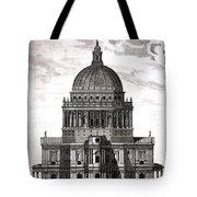 St. Pauls Drawn By Christopher Wren Tote Bag