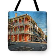 St Peter St New Orleans Tote Bag