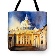 St. Peters Basilica Tote Bag