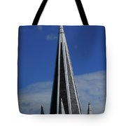 St. Peter's Roman Catholic Church's Steeple In Harpers Ferry Tote Bag
