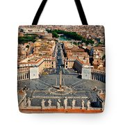 St Peter's Square Tote Bag