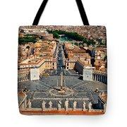 St Peter's Square Tote Bag