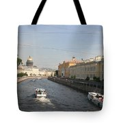 St. Petersburg Canal - Russia Tote Bag