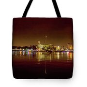 St Petersburg, Fl, Skyline At Night Tote Bag