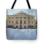St Petersburg, Russia, Pavlovsk Palace Tote Bag