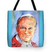 St. Pope Paul John II Tote Bag