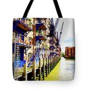 St Saviours Wharf Tote Bag