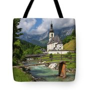 St. Sebastian Church Tote Bag