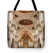 St. Stephen Cathedral Interior Tote Bag