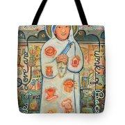 St. Teresa Of Kolkata Tote Bag