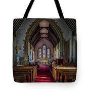St Thomas Church, St Dogmaels Tote Bag