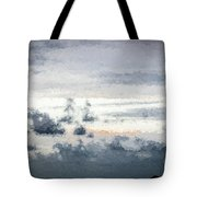 St Thomas - Sunset Over A Small Island Tote Bag