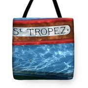 St. Tropez Tote Bag by Lainie Wrightson