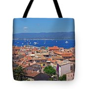 St-tropez Skyline Tote Bag by Corinne Rhode
