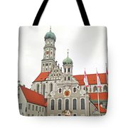 St. Ulrich's And St. Afra's Abbey Tote Bag