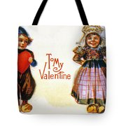 St. Valentines Day Card Tote Bag