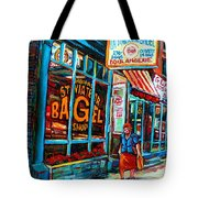 St. Viateur Bagel Bakery Tote Bag