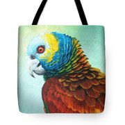 St. Vincent Parrot Tote Bag