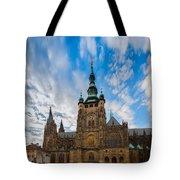 St  Vitus Cathedral In Prague Tote Bag