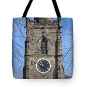 St Wystan's Bell Tower Tote Bag