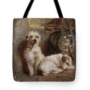 Stablemates Tote Bag by John Fitz Marshall