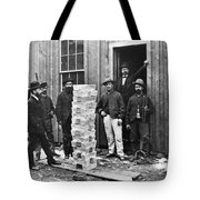 Stack Of Silver Ingots Tote Bag