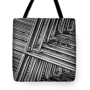 Stacked Barriers 0533 Tote Bag