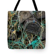 Stacked Crab Traps Tote Bag