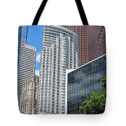Stacked Cubes Tote Bag