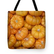 Stacked Mini Pumpkins Tote Bag