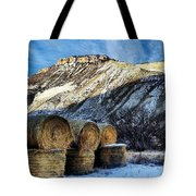 Stacked Mountains  Tote Bag