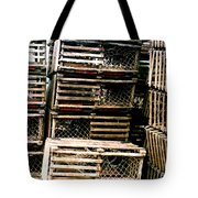 Stacked Traps Tote Bag