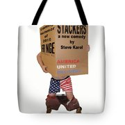 Stackers Poster Tote Bag