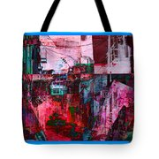 Stackin' The Alley Walk About Tote Bag