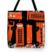 Stacking The Double Deckers Tote Bag