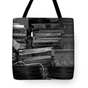 Stacks Of Wax Tote Bag