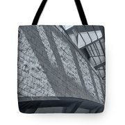 Stadium Abstract Tote Bag