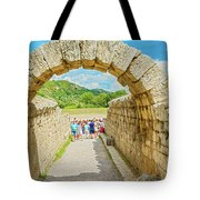 Stadium At Olympia, Greece  Tote Bag