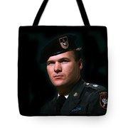 Staff Sergeant Barry Sadler In Uniform R.i.p. Circa 1965-2016 Tote Bag