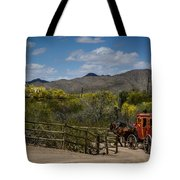 Stagecoach Tote Bag