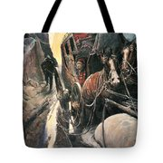Stagecoach Robbers Tote Bag