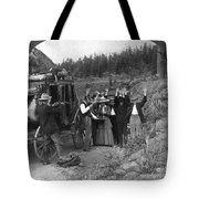 Stagecoach Robbery, 1911 Tote Bag
