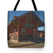 Stagecoach Transportation  Tote Bag