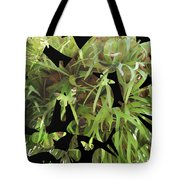 Staghorn Butterfly Fractal Tote Bag