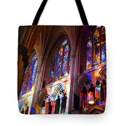 Stain Glass Cathedral Tote Bag