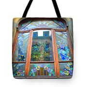 Stain Glass Of Brussels Tote Bag