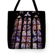 Stain Glass Window Tote Bag