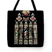 Stained Glass At St. John's Tote Bag