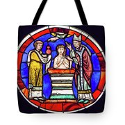 Stained Glass - Baptism - Musee De Cluny Tote Bag