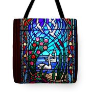 Stained Glass Beauty #20 Tote Bag